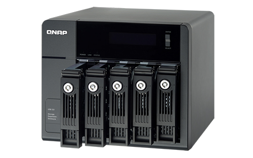 Qnap Expansion Enclosure 005-bay UX-500P
