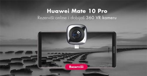 Android vest Rezerviši novi Huawei Mate 10 preko Vip online prodavnice i uz sjajan telefon dobijaš i EnVizion 360 VR kameru