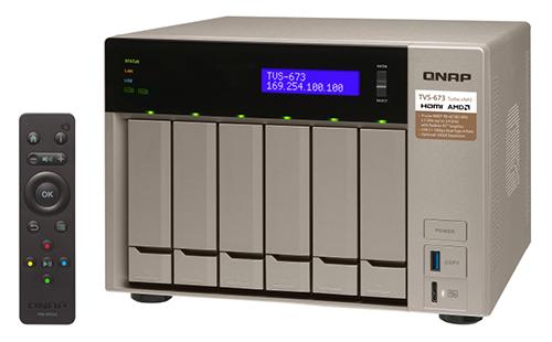Qnap 006-Bay NAS TVS-673-8G