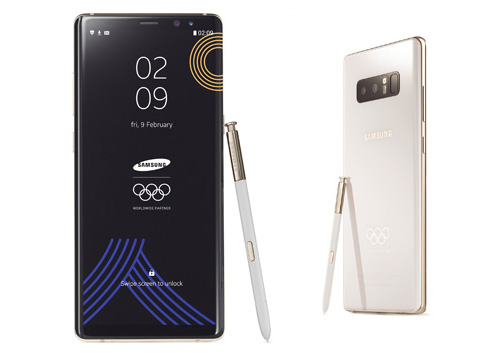 Android vest Limitirano izdanje Samsung Galaxy Note8 za olimpijce na ZOI 2018