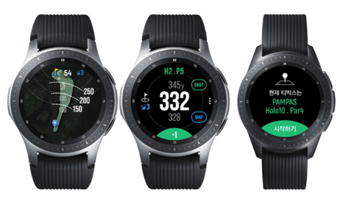 Android vest Predstavljen Samsung Galaxy Watch Golf Edition