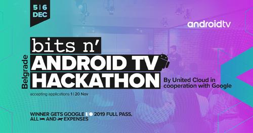 Android vest Prijavi se na AndroidTV Hakaton 2018 i odvedi svoj tim na Google I/O 2019 u Kaliforniji! (2)