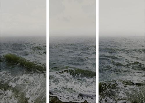 Sony - Nadav Kander, Tamna linija, ušće Temze serija, Voda I deo 2015