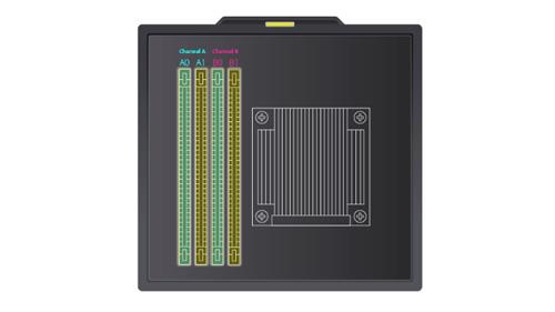 Qnap 008U-Bay NAS TVS-872XU-RP-i3-4G