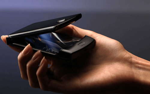 Android vest Procurele slike Motorola sklopivog display-a RAZR modela