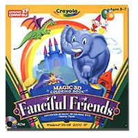 ITsvet | N/A Crayola Magic 3D Coloring Book - Fanciful Friends..
